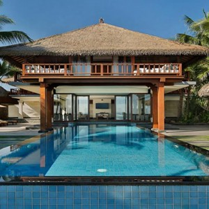 Legian Bali Seminyak - Luxury Bali Honeymoon Packages - The beach house exterior