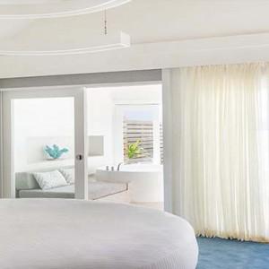Lux South Ari Atoll - Luxury Maldives Honeymoon Packages - Temptation Pool Water Villa pool interior