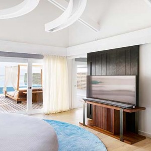 Lux South Ari Atoll - Luxury Maldives Honeymoon Packages - Temptation Pool Water Villa pool interior1