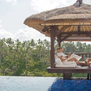 Luxury Bali Honeymoon Packages Viceroy Bali Deluxe Terrace Pool Villa Women In Cabana1