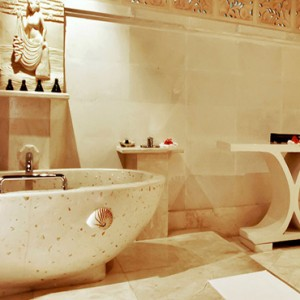 Luxury Bali Honeymoon Packages Viceroy Bali Terrace Pool Villa Bathroom