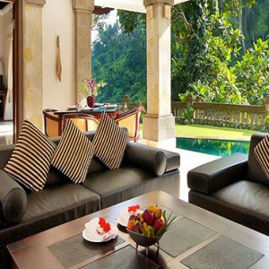 Luxury Bali Honeymoon Packages Viceroy Bali Viceroy Villa Outdoor Living Area