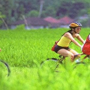 Luxury Bali Honeymoon Packages Viceroy Bali Cycling