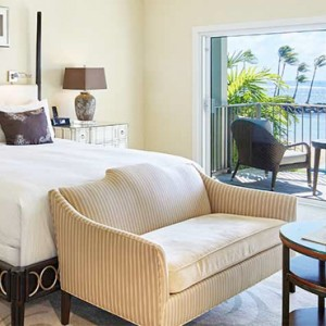 Oceanfront Lanai - Kahala Hotel and Resort Hawaii - Luxury Hawaii Honeymoon Packages