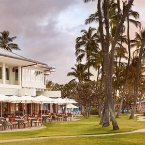Pulmeria Beach House - Kahala Hotel and Resort Hawaii - Luxury Hawaii Honeymoon Packages