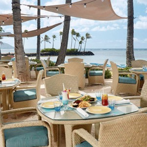 Seaside Grill - Kahala Hotel and Resort Hawaii - Luxury Hawaii Honeymoon Packages