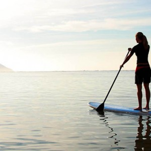 paddleboarding - Kahala Hotel and Resort Hawaii - Luxury Hawaii Honeymoon Packages