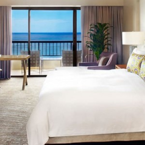Ali i Ocean Front One Bedroom Suite 2 - Hilton Hawaiian Waikiki Beach - Luxury Hawaii Honeymoon Packages