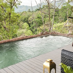 Birds Nest Pool Villas 3 - Keemala Hotel Phuket - luxury phuket honeymoon packages