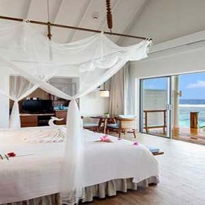 Centara Grand Island Resort & Spa - Luxury Maldives Honeymoon Packages - Ocean Water Villa interior