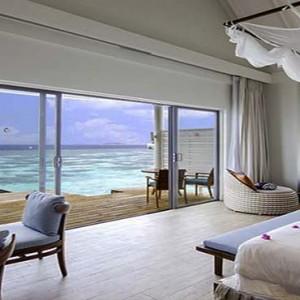 Centara Grand Island Resort & Spa - Luxury Maldives Honeymoon Packages - Ocean Water Villa ocean view