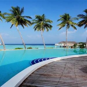 Centara Grand Island Resort & Spa - Luxury Maldives Honeymoon Packages - pool1