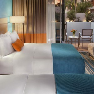 Garden View Room - the shore hotel santa monica - luxury los angeles honeymoon packages