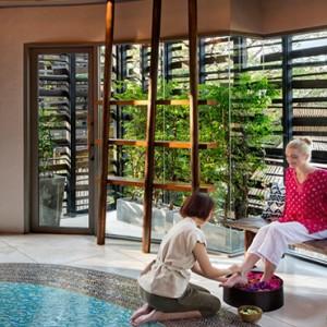 Keemala Phuket - luxury Thailand Honeymoon Packages - Spa treatment by pool