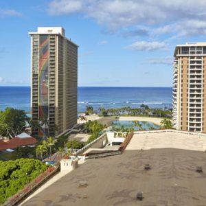 Luxury Hawaii Honeymoon Packages Hilton Hawaiian Waikiki Beach Ocean View Room – Village Tower 2