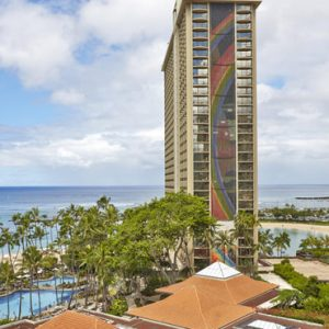 Luxury Hawaii Honeymoon Packages Hilton Hawaiian Waikiki Beach Tapa Corner One Bedroom Suite 4