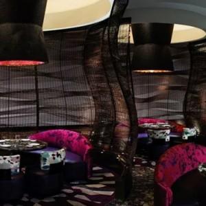 Nobu Lounge - Nobu Hotel Caesars Palace Las Vegas - Luxury Las Vegas Honeymoon Packages