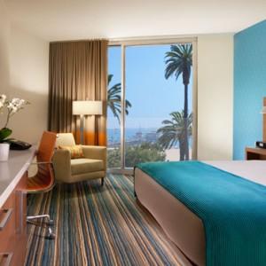 Ocean View Rooms - the shore hotel santa monica - luxury los angeles honeymoon packages