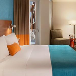 Partial Ocean View Superior King - the shore hotel santa monica - luxury los angeles honeymoon packages