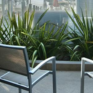 Poolside - the shore hotel santa monica - luxury los angeles honeymoon packages