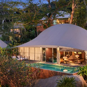 Tent Pool Villa4 - Keemala Hotel Phuket - luxury phuket holiday packages