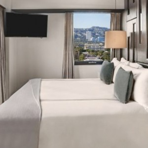 Wilshire suite 2 - SIXTY Beverly Hills - luxury los angeles honeymoon packages