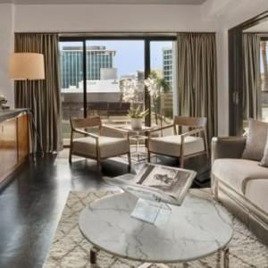 Wilshire suite - SIXTY Beverly Hills - luxury los angeles honeymoon packages