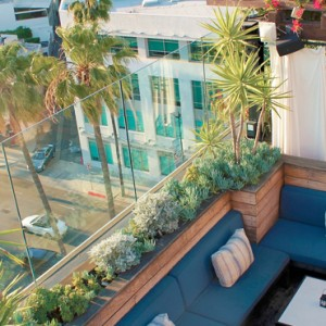 bar - SIXTY Beverly Hills - luxury los angeles honeymoon packages