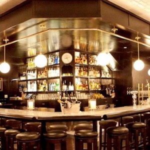 caulfields bar and lounge - SIXTY Beverly Hills - luxury los angeles honeymoon packages