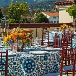 dining 2 - Kimpton canary Hotel Santa Barbra - Luxury Los Angeles Honeymoon Packages