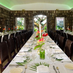 dining 2 - Montpelier Plantation and Beach - Luxury St Kitts and Nevis Holiday Packages