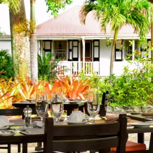 dining 3 - Montpelier Plantation and Beach - Luxury St Kitts and Nevis Holiday Packages