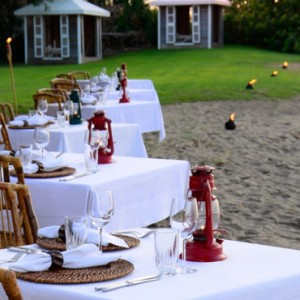 dining - Montpelier Plantation and Beach - Luxury St Kitts and Nevis Holiday Packages