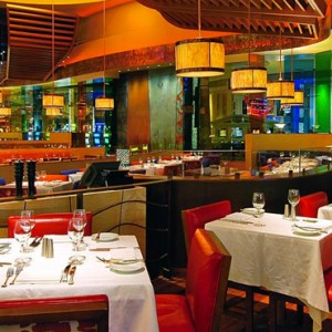 dining - Nobu Hotel Caesars Palace Las Vegas - Luxury Las Vegas Honeymoon Packages