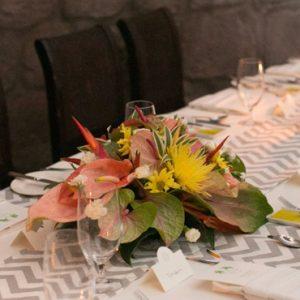 Dining Setup Montpelier Plantation & Beach St Kitts & Nevis Honeymoons