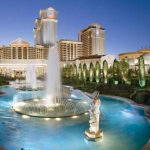 exterior 2 - Nobu Hotel Caesars Palace Las Vegas - Luxury Las Vegas Honeymoon Packages