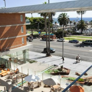 exterior 2 - the shore hotel santa monica - luxury los angeles honeymoon packages
