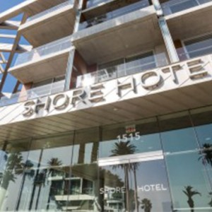 exterior 4 - the shore hotel santa monica - luxury los angeles honeymoon packages