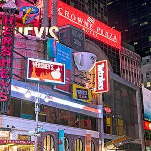 exterior - Crowne Plaza Times Square - luxury New York Honeymoon Packages