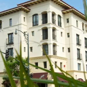 exterior - Kimpton canary Hotel Santa Barbra - Luxury Los Angeles Honeymoon Packages