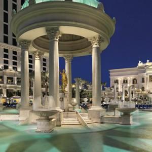 exterior - Nobu Hotel Caesars Palace Las Vegas - Luxury Las Vegas Honeymoon Packages