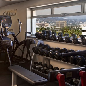 gym - SIXTY Beverly Hills - luxury los angeles honeymoon packages