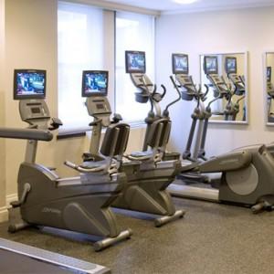 gym - Warwick New York Hotel - Luxury new york honeymoon packages