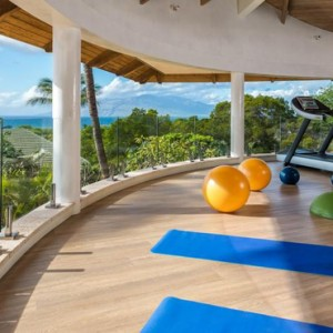 gym - hotel wailea maui - luxury hawaii honeymoon packages