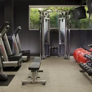 gym - the shore hotel santa monica - luxury los angeles honeymoon packages