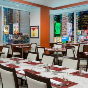 New York Honeymoon Packages Crowne Plaza New York Times Square Dining