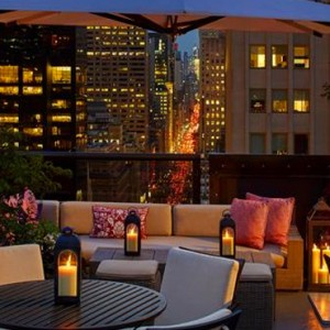 New York Honeymoon Packages The Peninsula New York Hotel Bar 2