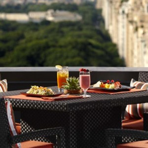 New York Honeymoon Packages The Peninsula New York Hotel Dining 2