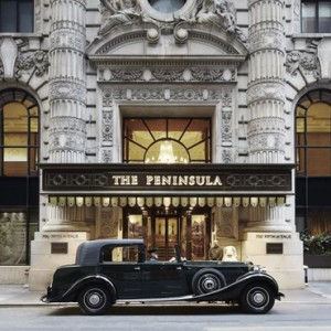 New York Honeymoon Packages The Peninsula New York Hotel Exterior
