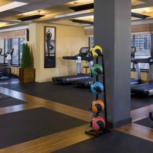 New York Honeymoon Packages The Peninsula New York Hotel Gym